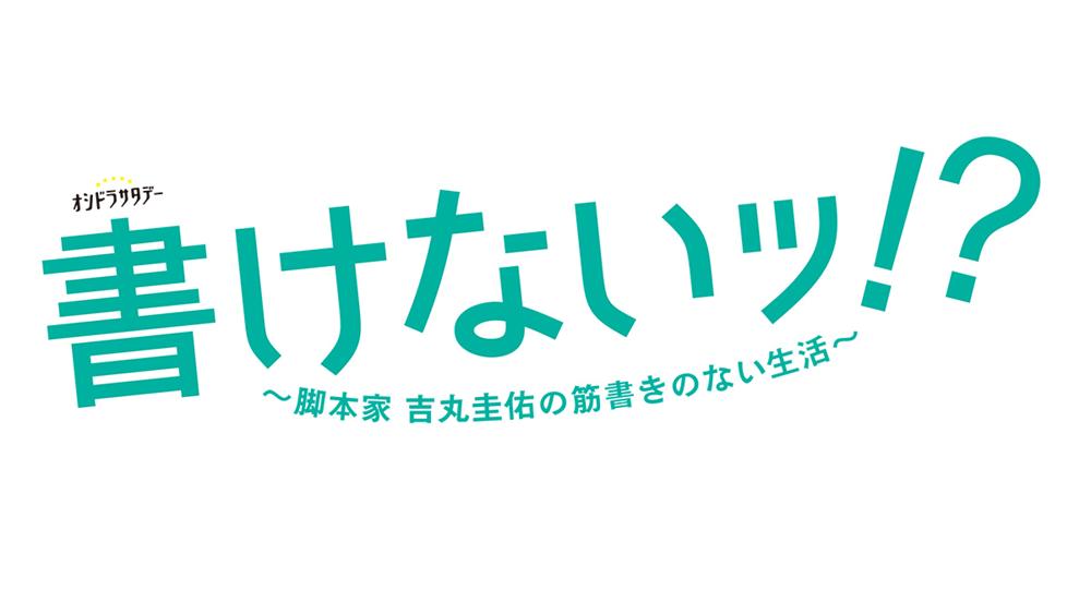 書けないッ!?~脚本家 吉丸圭佑の筋書きのない生活~ 見逃し動画無料フル配信